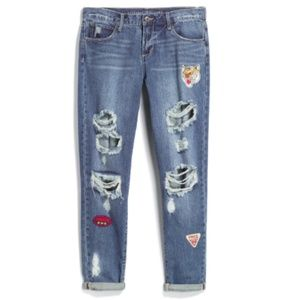 ARTICLES OF SOCIETY Zula Distressed Boyfriend Jean